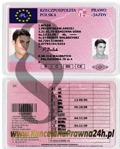 Już nie musisz płacić za wydanie nowego prawa jazdy, jeśli zmieniają się dane np. z uwagi na zmianę nazwy ulicy.