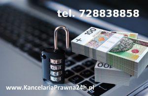 odzyskać pieniądze skradzione przez hakera