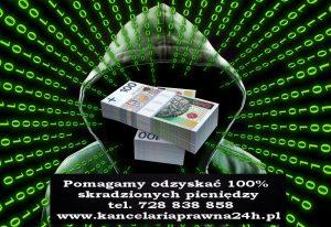 włamanie na rachunek bankowy