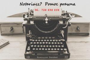 usługi notarialne z dojazdem